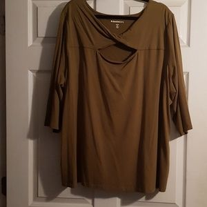 Sexy Brown Tunic